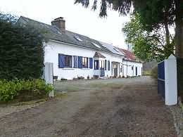 A rural property with outbuilding in Normandy